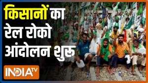 Rail Roko: Protestors block railway tracks at Bahadurgarh