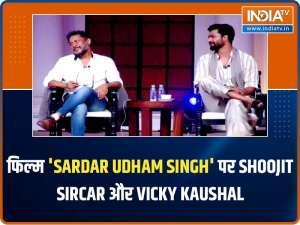 Shoojit Sircar and Vicky Kaushal on upcoming film Sardar Udham Singh