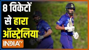 T20 World Cup: Rohit's half century fires India to 8-wicket win over Australia in final warm-up