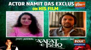 Aafat-e-Ishq: Namit Das talks to India TV about his upcoming movie