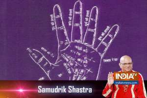 Know about the head line in samudrik shastra today