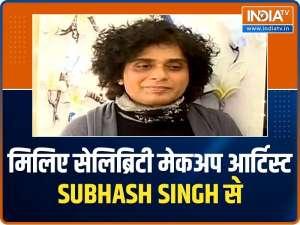 Meet celebrity make up artist Subhash Singh, the man behind Bollywood actress' glamorous looks