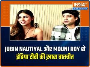 Jubin Nautiyal and Mouni Roy on their new song