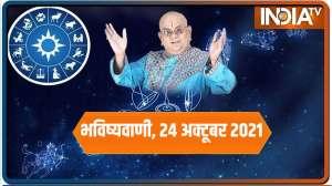 Today Horoscope, Daily Astrology, Zodiac Sign for Sunday, October 24, 2021