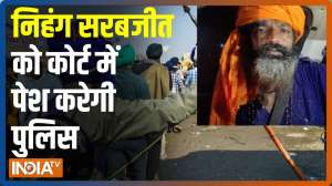 Singhu Border murder row: Nihang Sarabjit surrenders, Police to produce him in court today